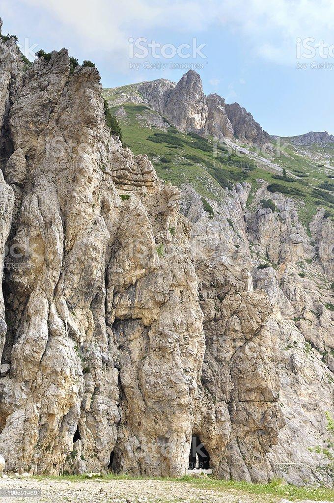 path traversed mountain royalty-free stock photo