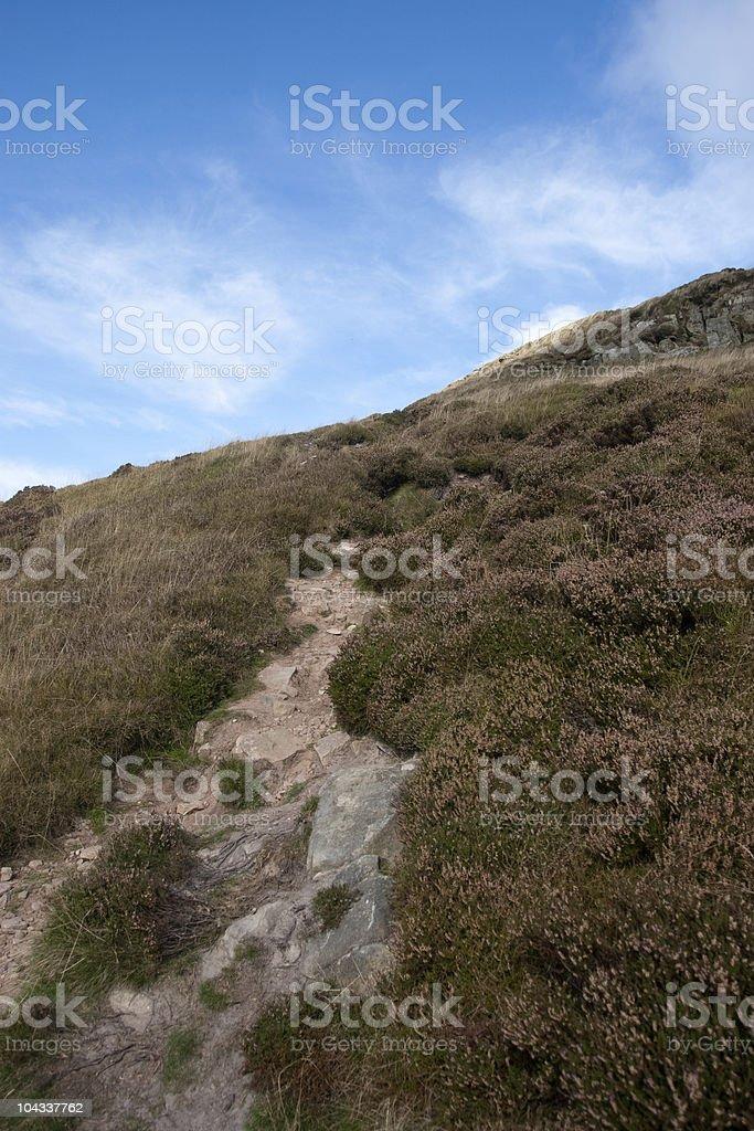 シュガーローフ山に登る小道 ロイヤリティフリーストックフォト