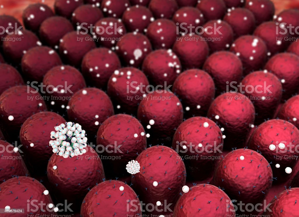 pathogen, cells stock photo