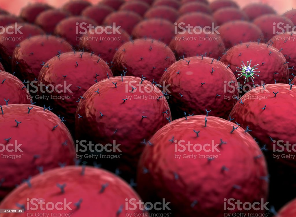 pathogen, cells stock photo