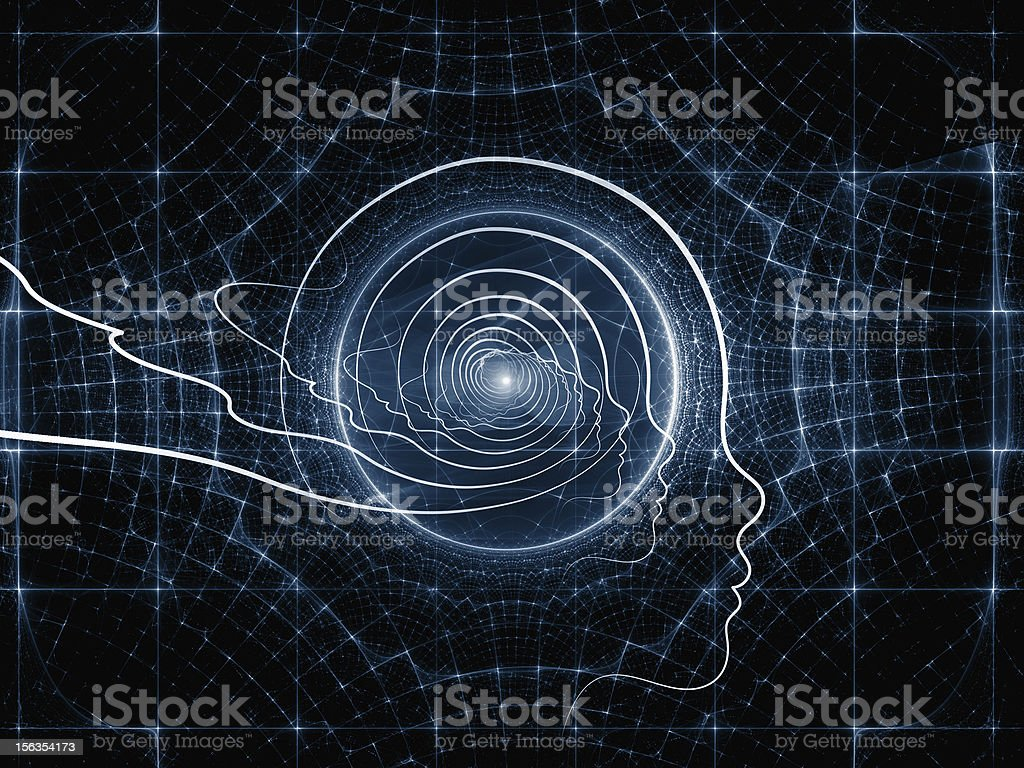 Paths of Intelligent Design royalty-free stock photo