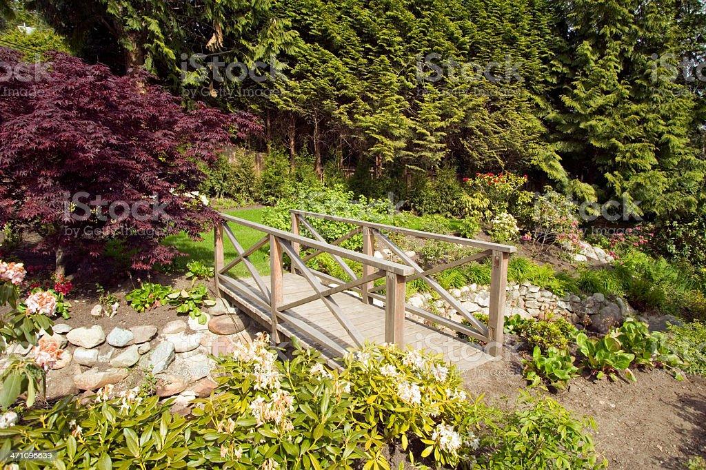 pathway garden home backyard royalty-free stock photo