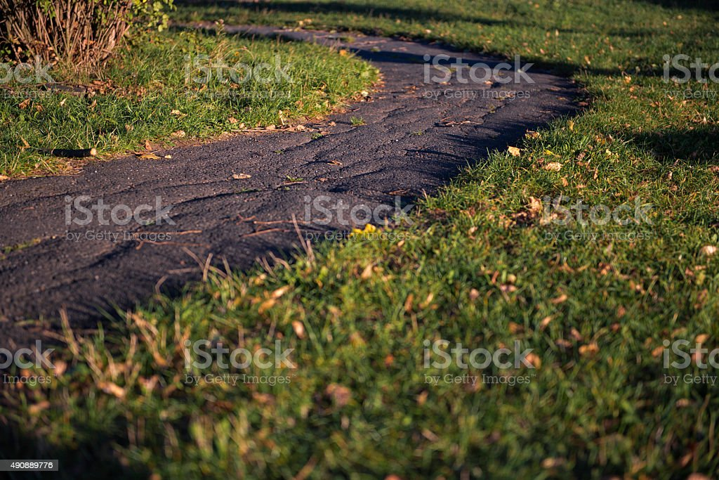 Pathway in the nature stock photo