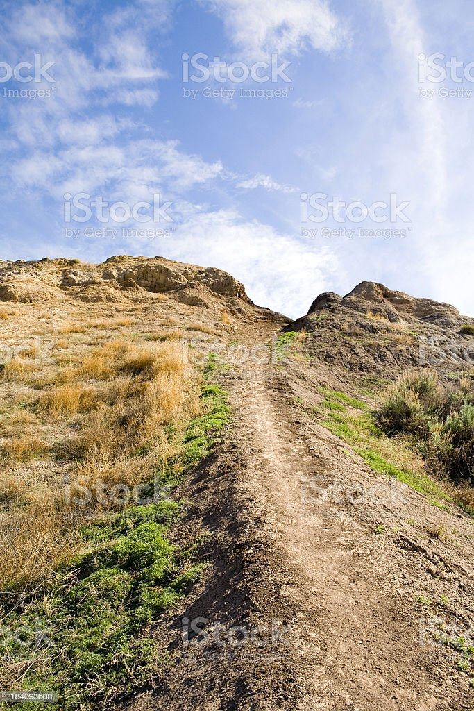 Pathway to the clouds royalty-free stock photo