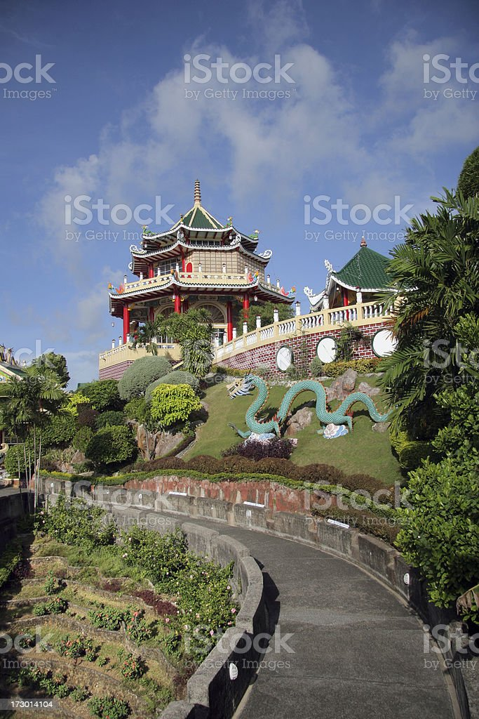 Pathway to the Temple royalty-free stock photo