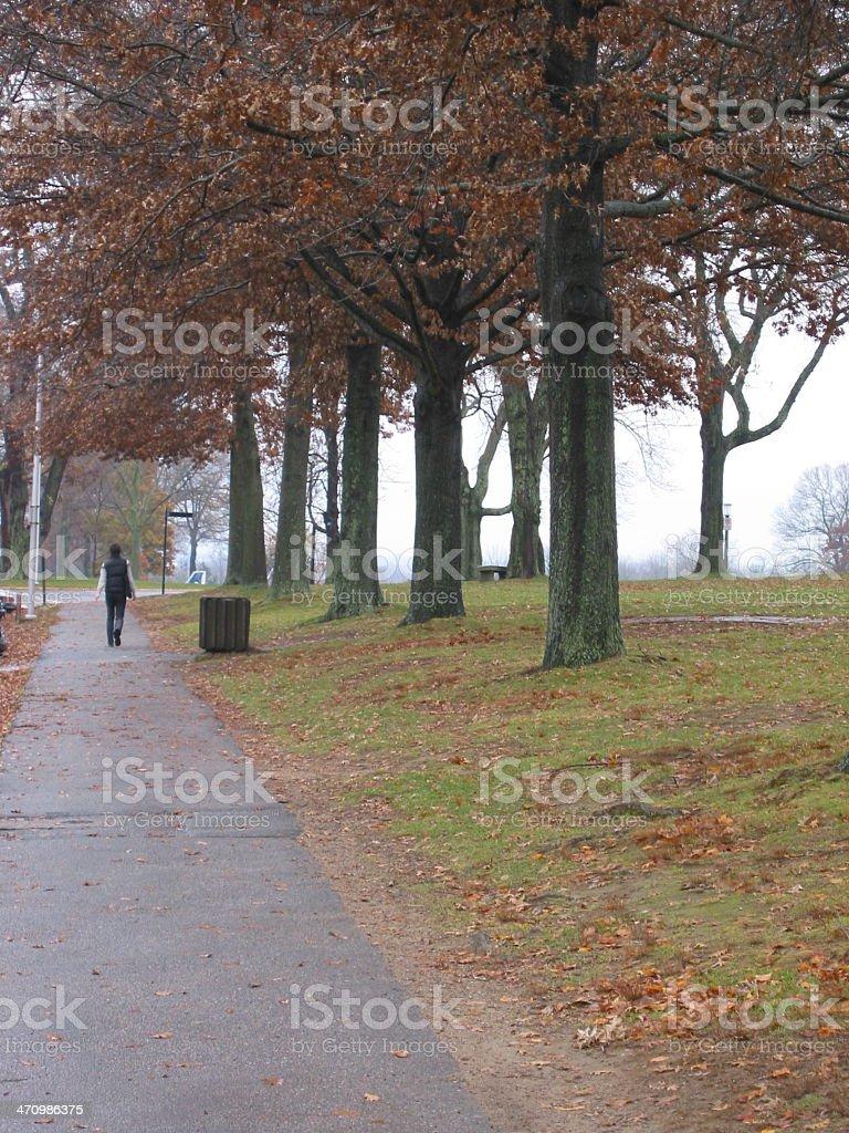 Pathway - Woman royalty-free stock photo