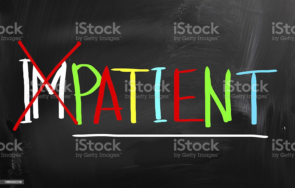 Patient Concept royalty-free stock photo