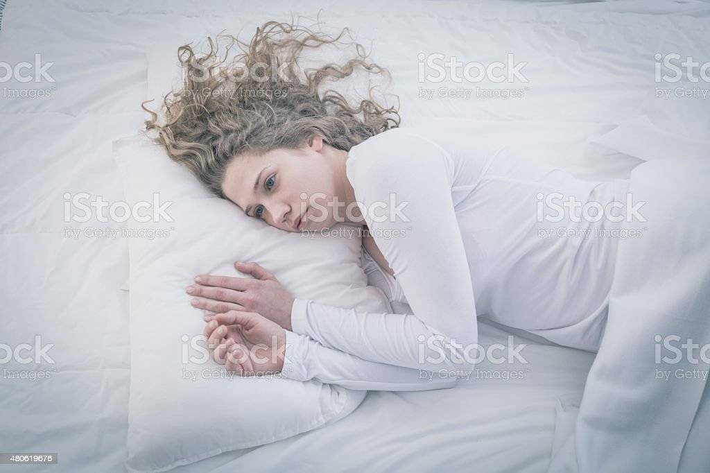 Patient of mental hospital stock photo