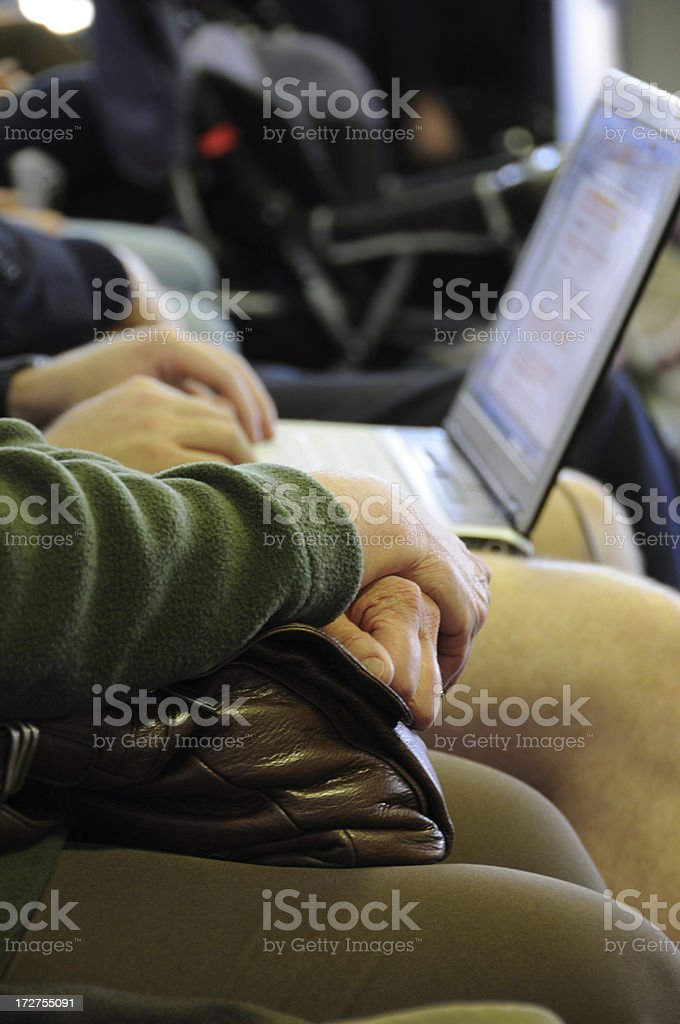 Patiently Waiting royalty-free stock photo