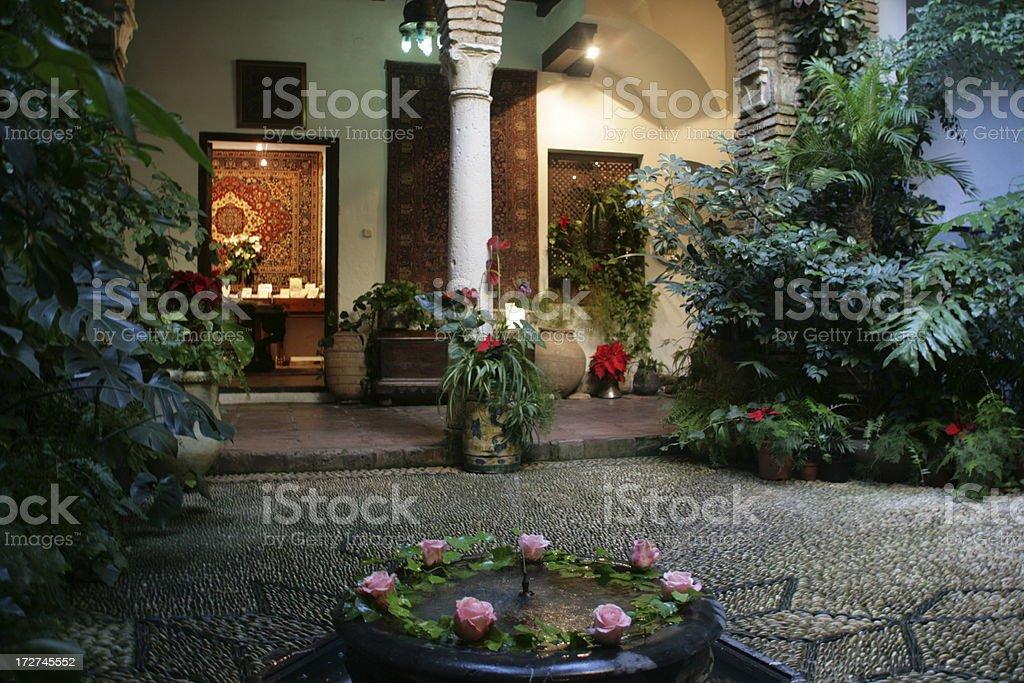 Patio andaluz royalty-free stock photo