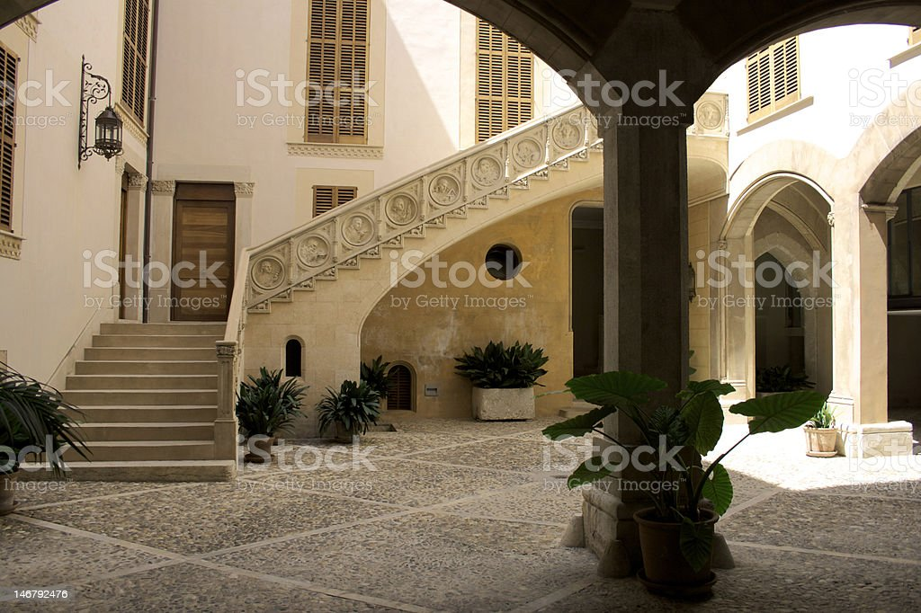 Patio Architecture royalty-free stock photo