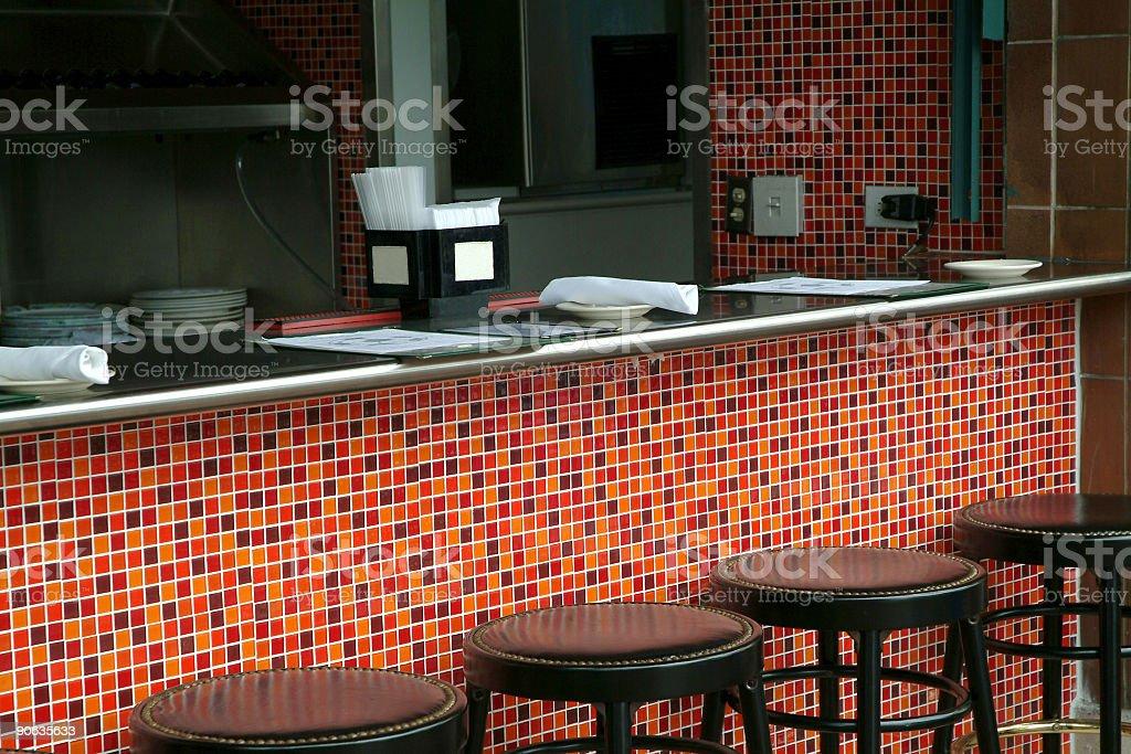 Patio Bar royalty-free stock photo