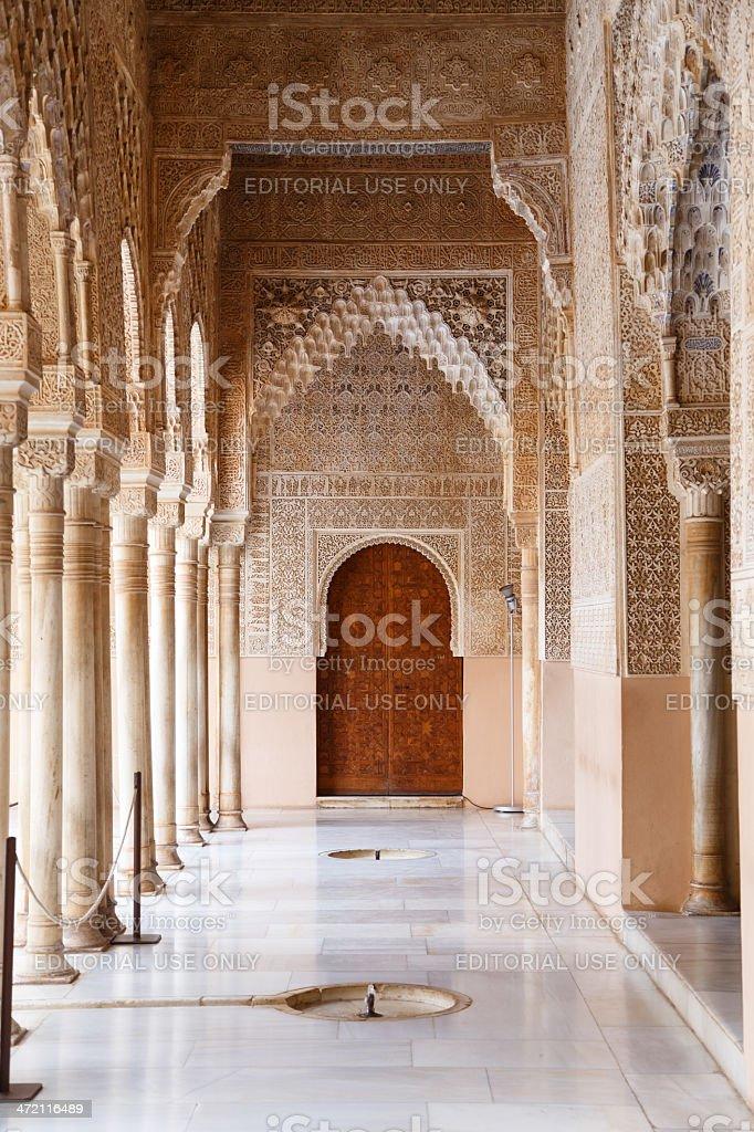 Patio de los Leones - Alhambra stock photo