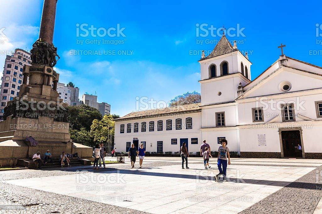 Patio do Colegio in Sao Paulo , Brazil stock photo