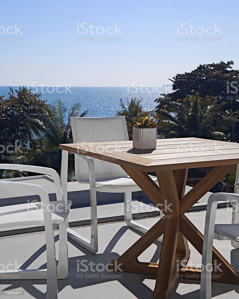 Patio Furniture au Mode stock photo