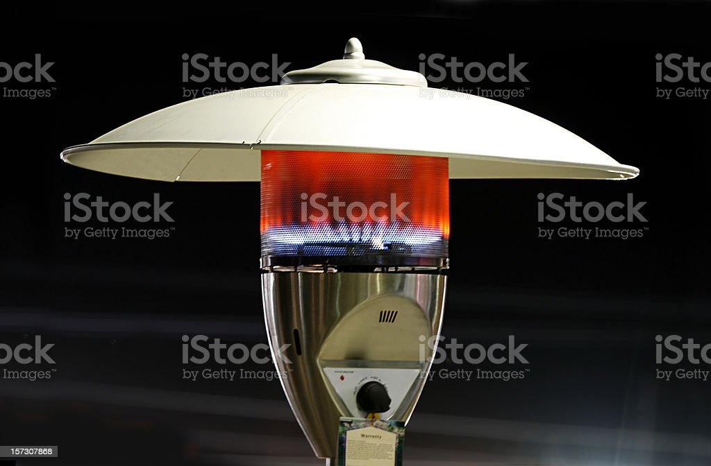 Patio Heater royalty-free stock photo