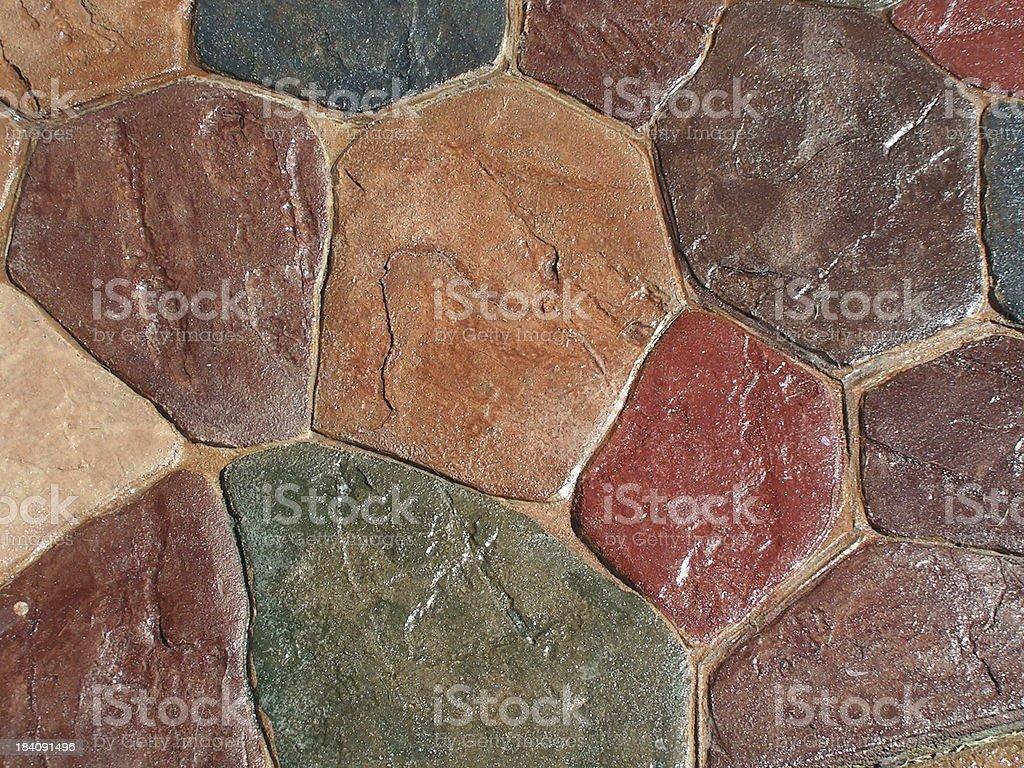 Patio Stone Textures stock photo