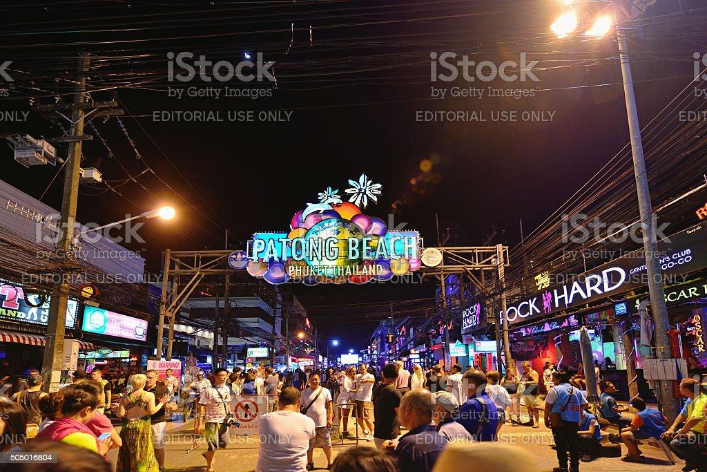 Patong Beach, Phuket Province, Thailand stock photo
