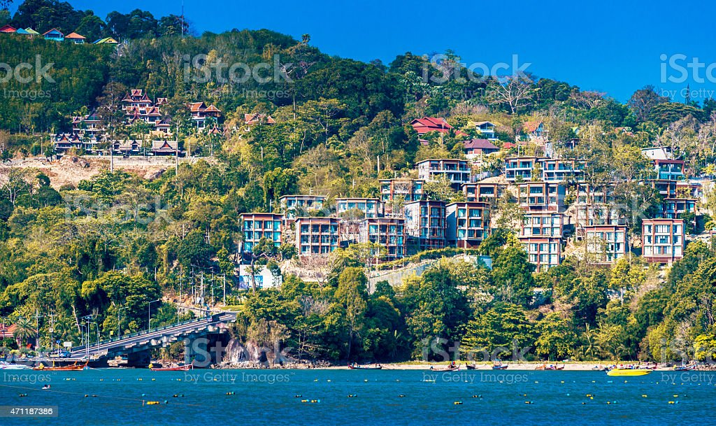 Patong beach , Phuket, Thailand stock photo