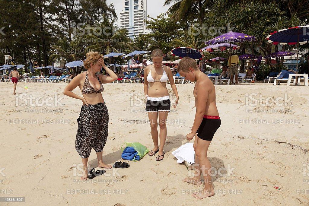 Patong beach royalty-free stock photo