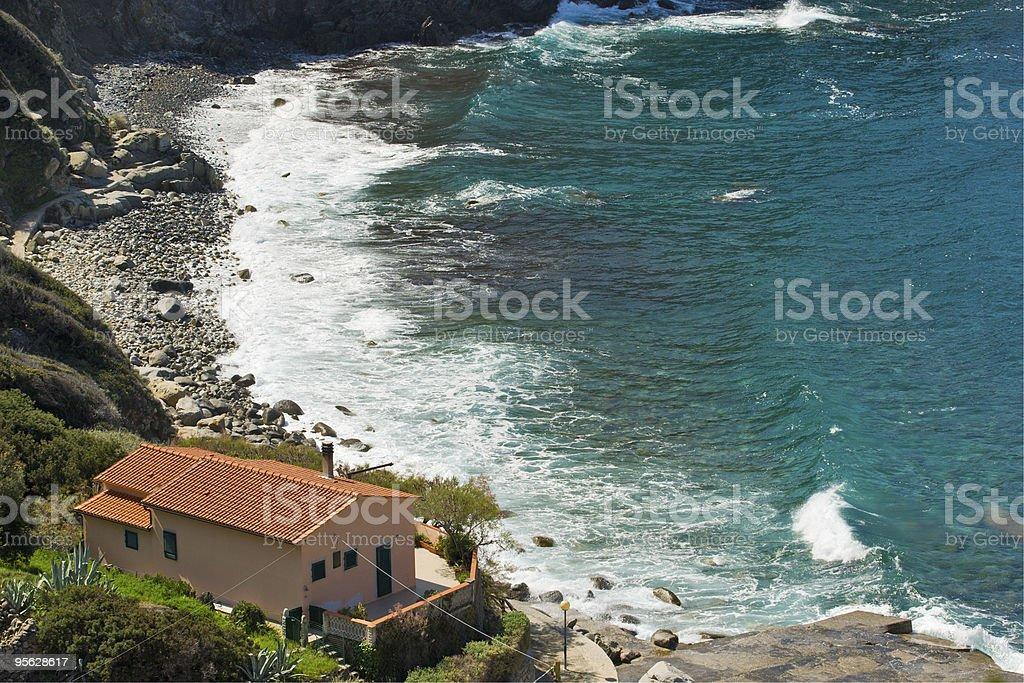 Patresi beach, Elba, Italien. – Foto