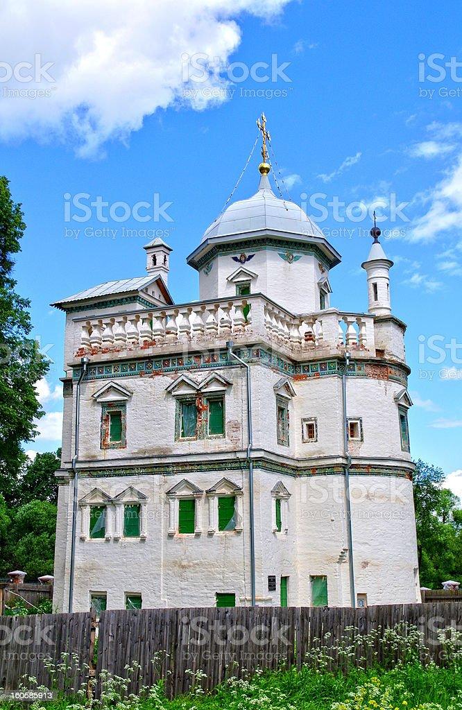 Patriarch Nikon's residence at the New Jerusalem Cloister royalty-free stock photo