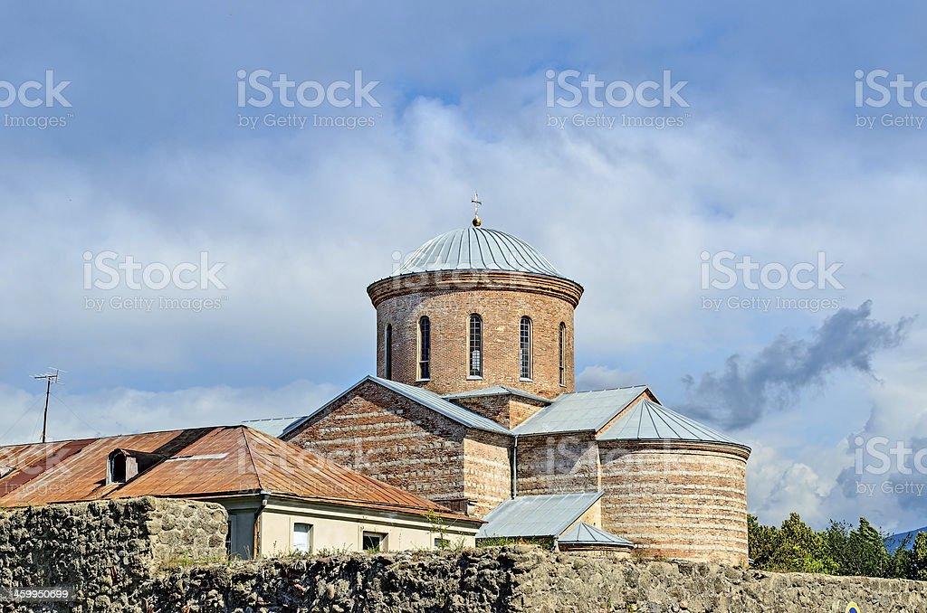 Patriarchal Cathedral in Pitsunda, Abkhazia. stock photo