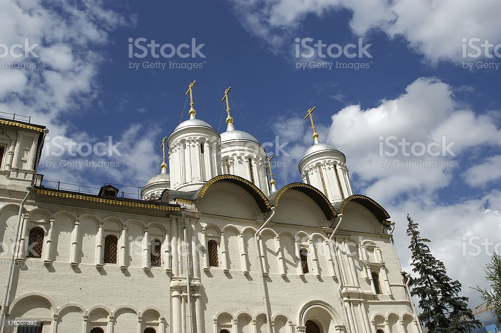 Patriarch™s Palace and the Twelve Apostles?€™ Church, Moscow stock photo