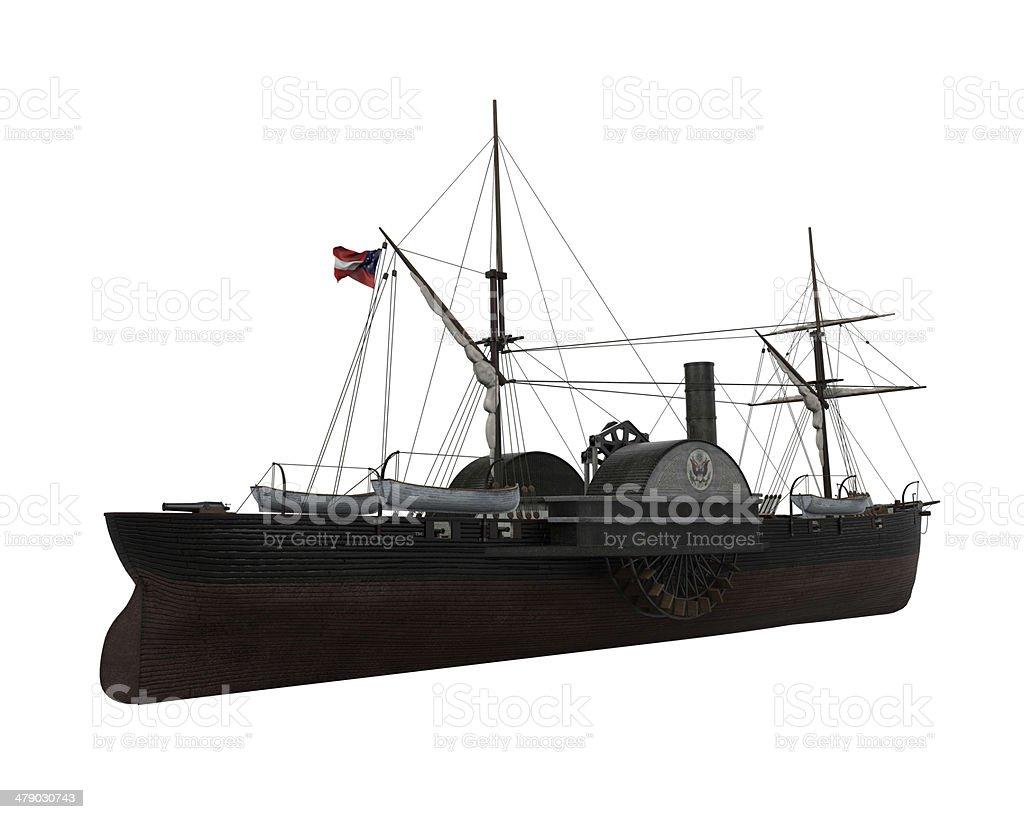 CSS Patrick Henry stock photo
