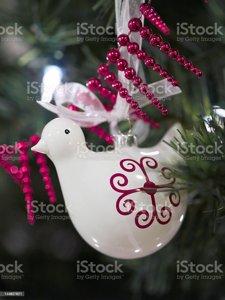 Patridge in a Pear Tree royalty-free stock photo