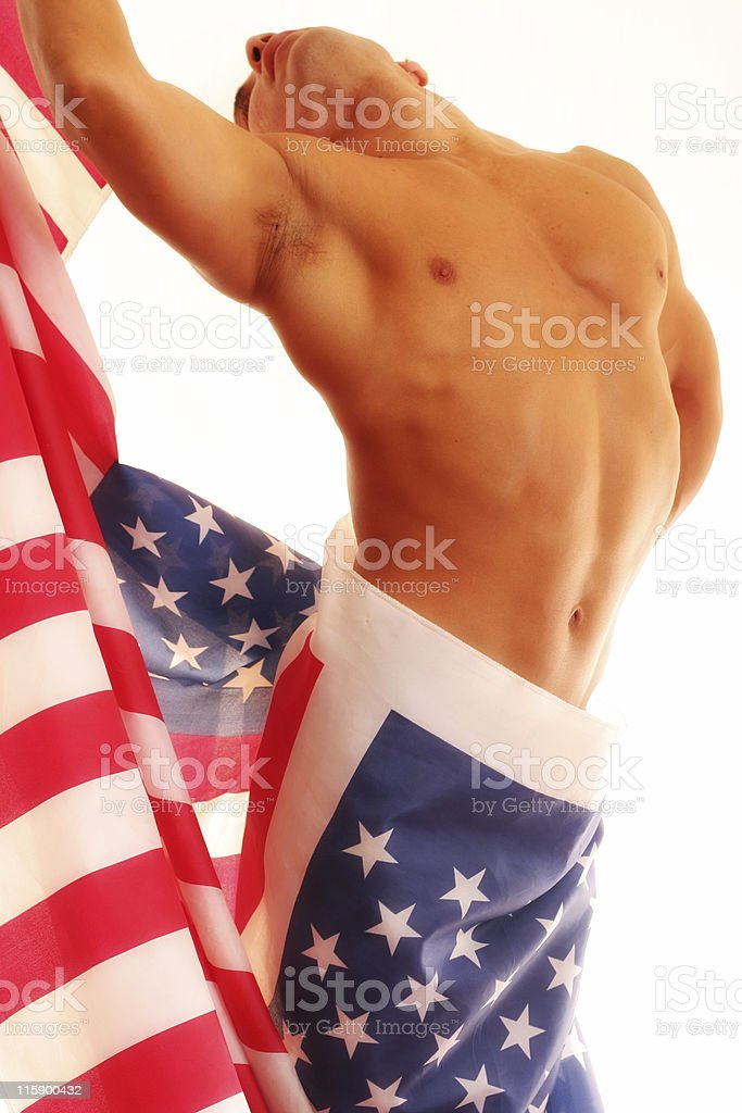 Patriot royalty-free stock photo