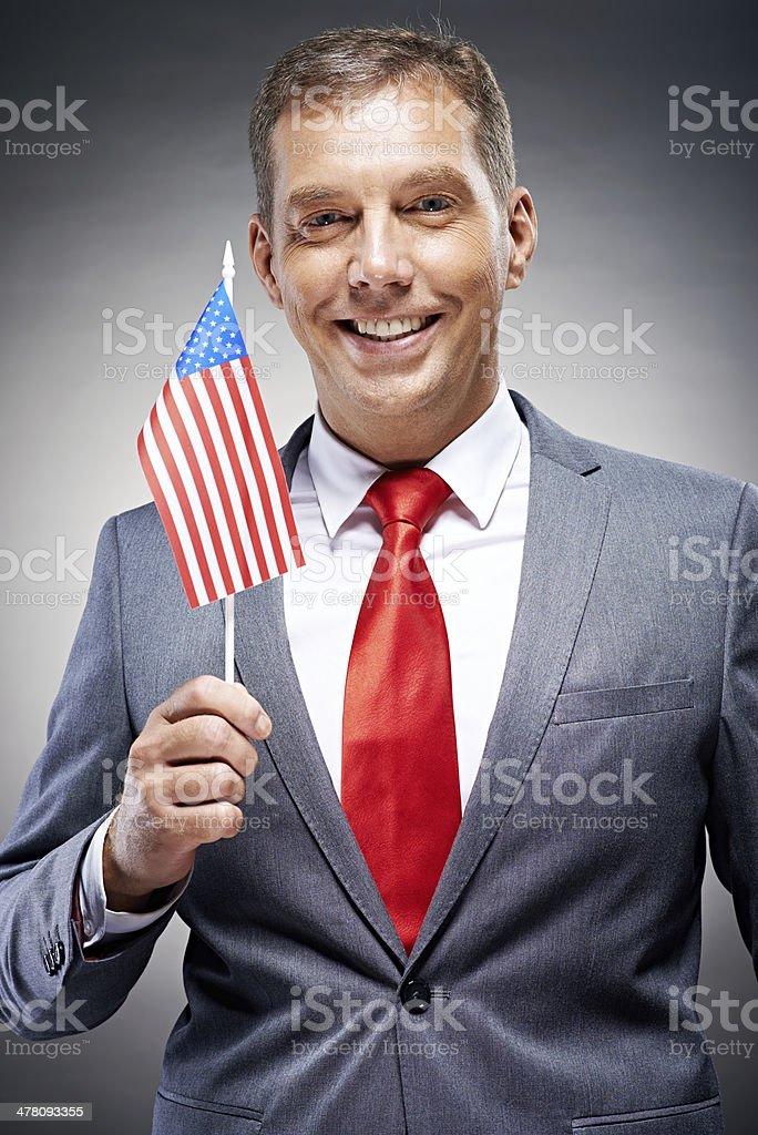 USA patriot royalty-free stock photo