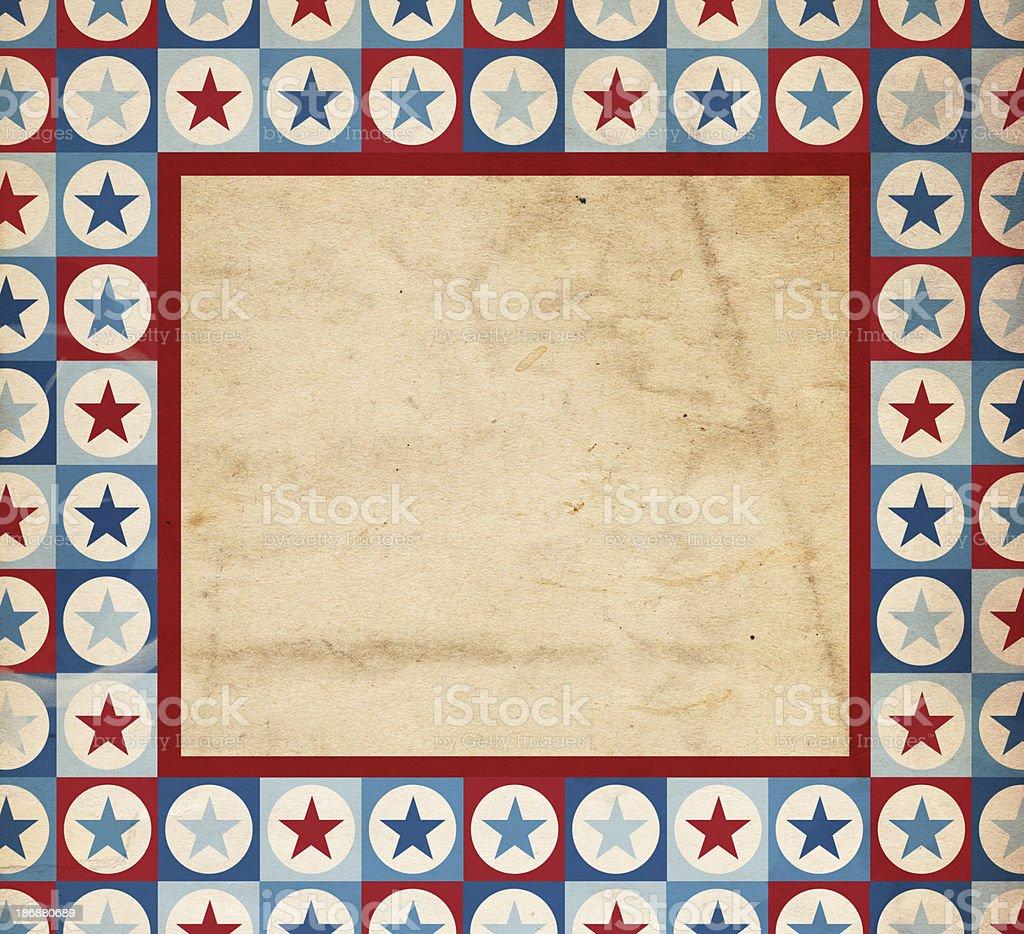Patriotic Background Paper - XXXL royalty-free stock photo