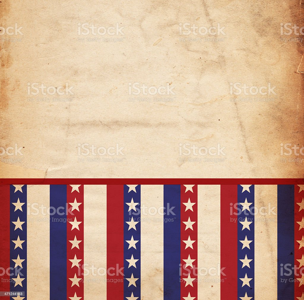 Patriotic Background Paper - XXXL royalty-free stock photo