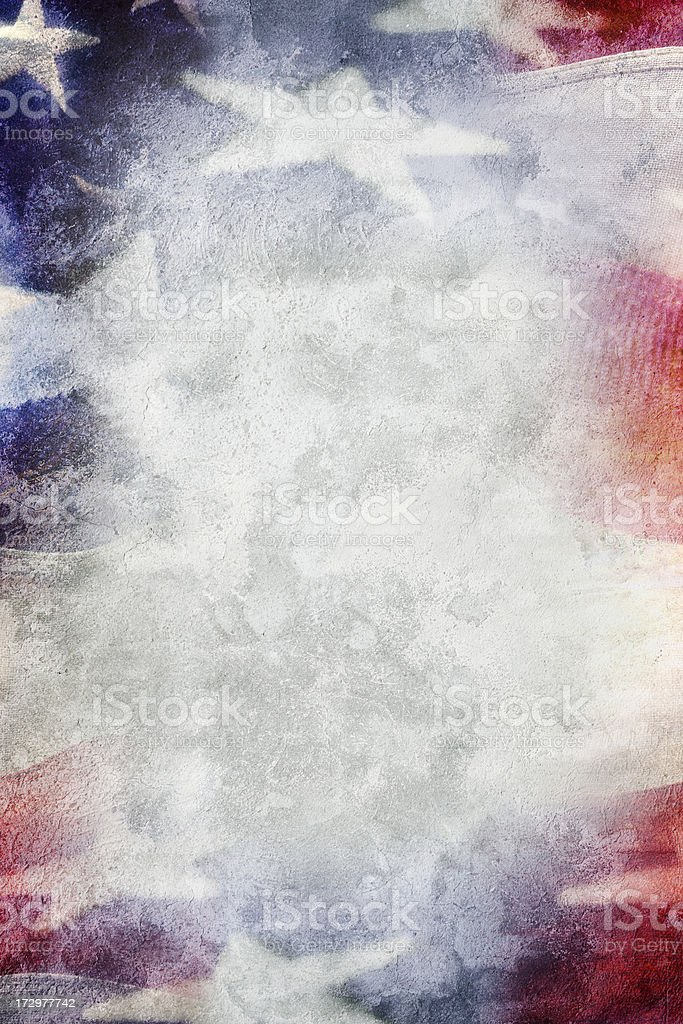 Patriotic Background royalty-free stock photo