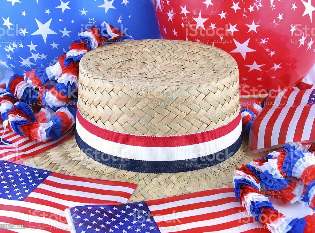 Patriotic Background stock photo