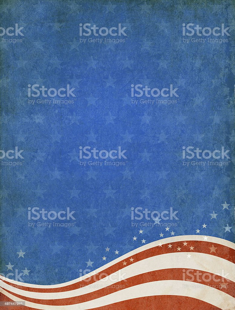 Patriotic background. stock photo
