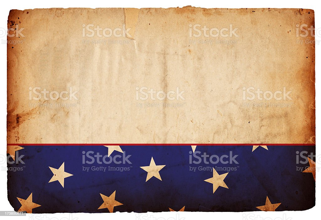 Patriotic Background XXXL royalty-free stock photo