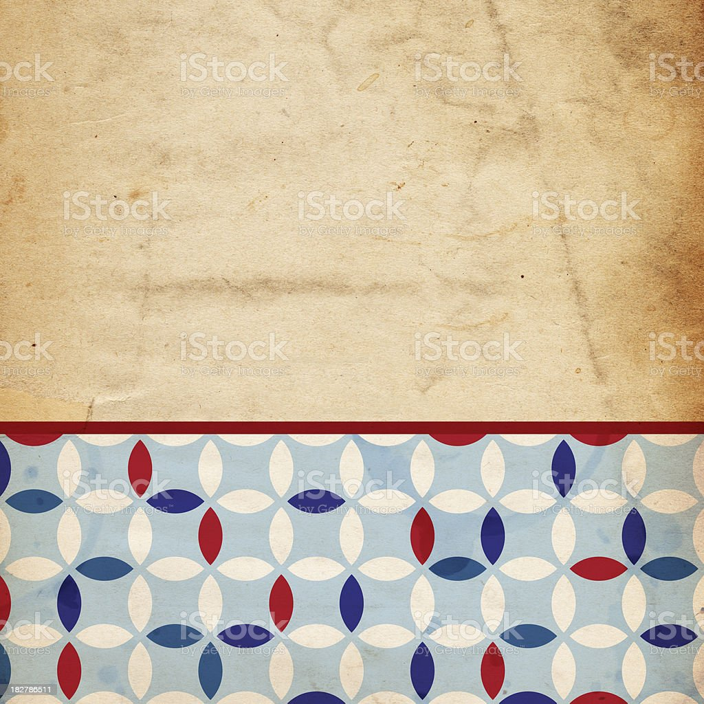 Patriotic Background/Scrapbook Paper - XXXL royalty-free stock photo