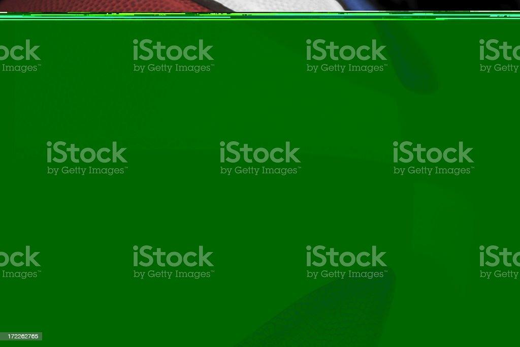 Patriotic basketball royalty-free stock photo