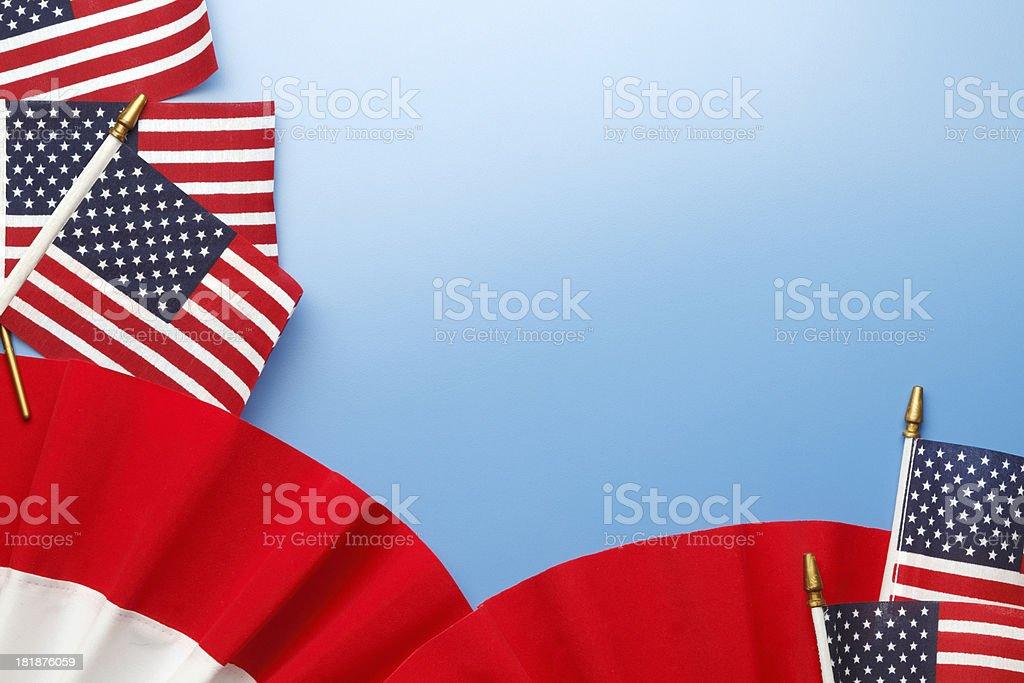 Patriotic Bunting royalty-free stock photo
