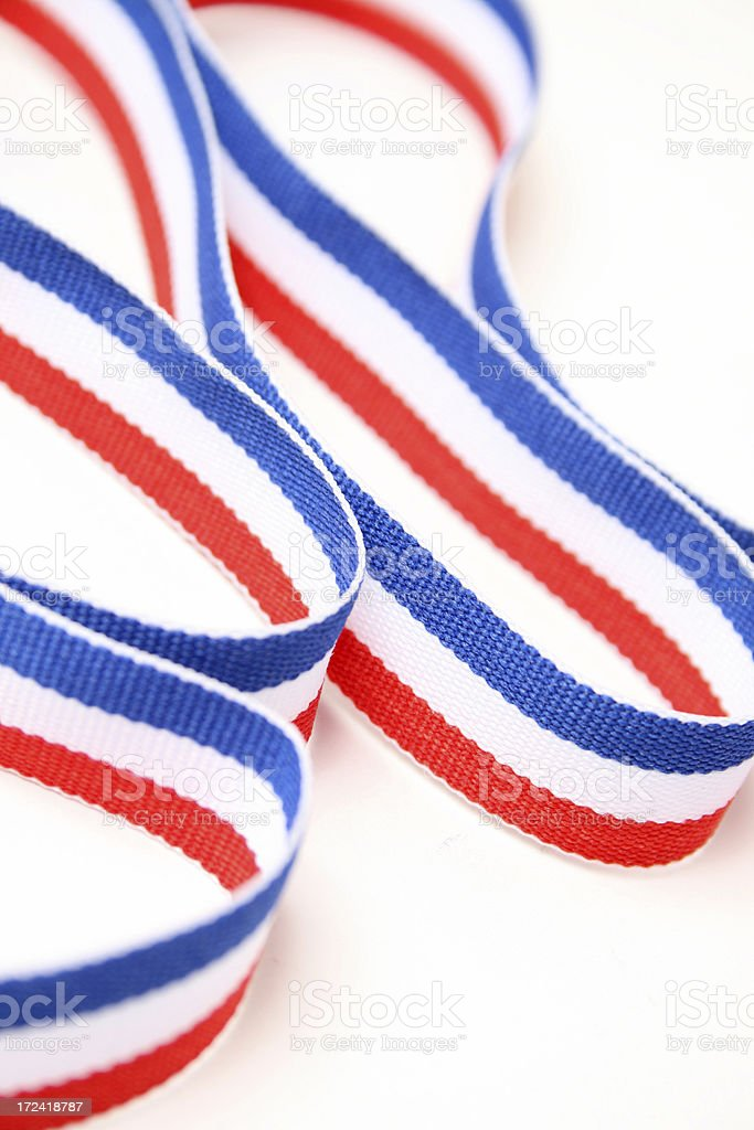 Patriotic Colors royalty-free stock photo