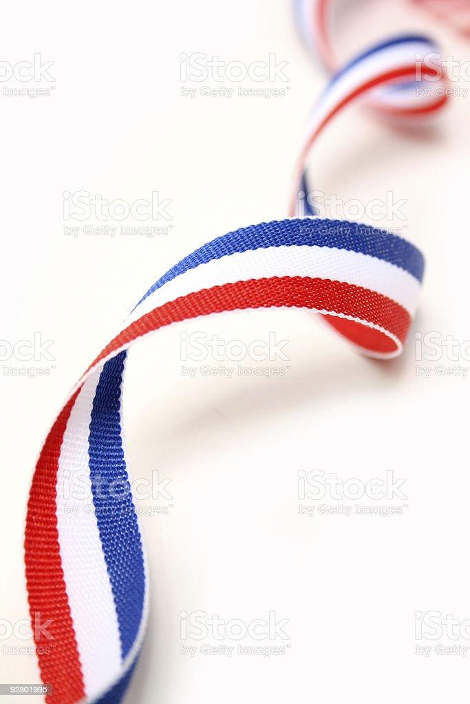 Patriotic Colors royalty-free stock photo