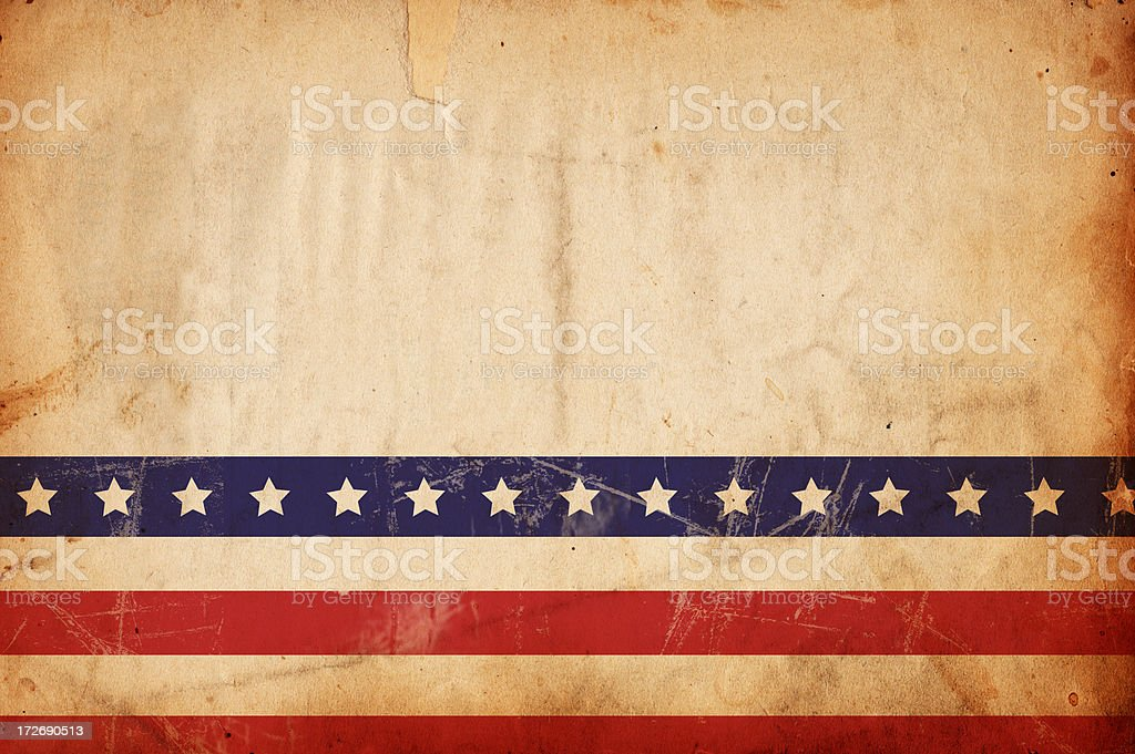 Patriotic Grunge Paper XXXL stock photo