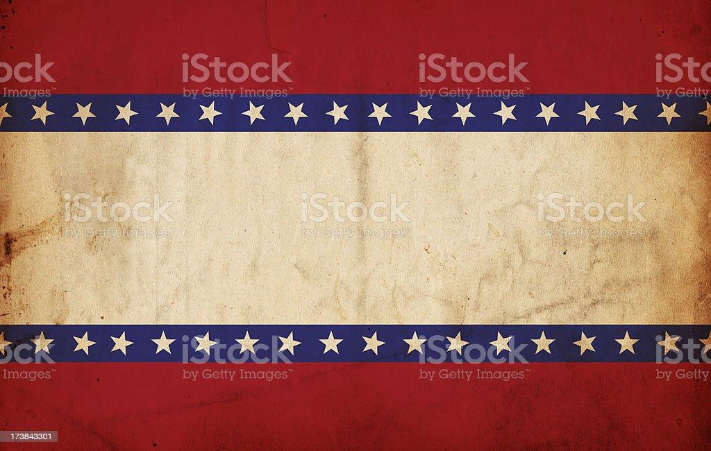 Patriotic Grunge Paper XXXL royalty-free stock photo