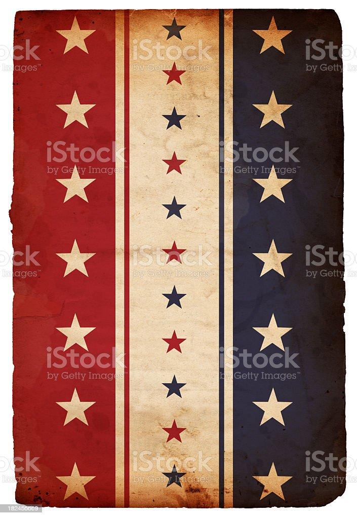 Patriotic Paper Background - XXXL royalty-free stock photo