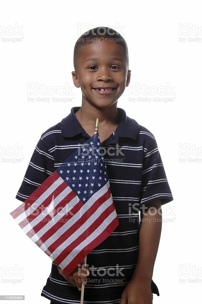 Patriotic royalty-free stock photo
