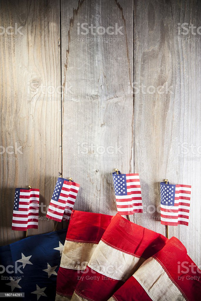 Patriotic Poster royalty-free stock photo