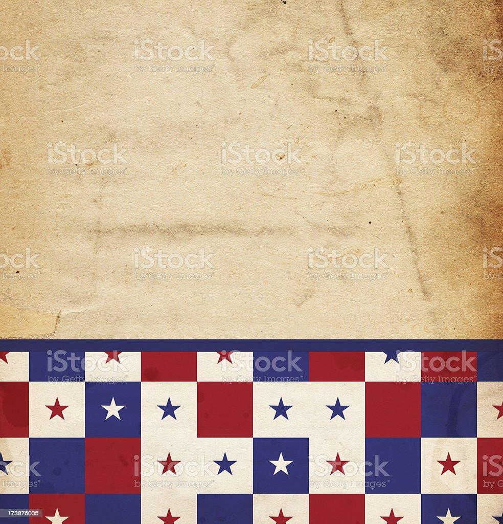 Patriotic Squares XXXL stock photo