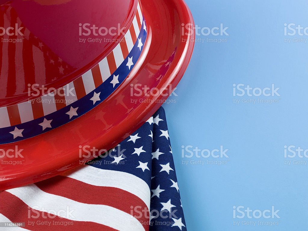 Patriotic symbols royalty-free stock photo